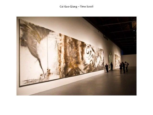 Cai Guo-Qiang – Time Scroll