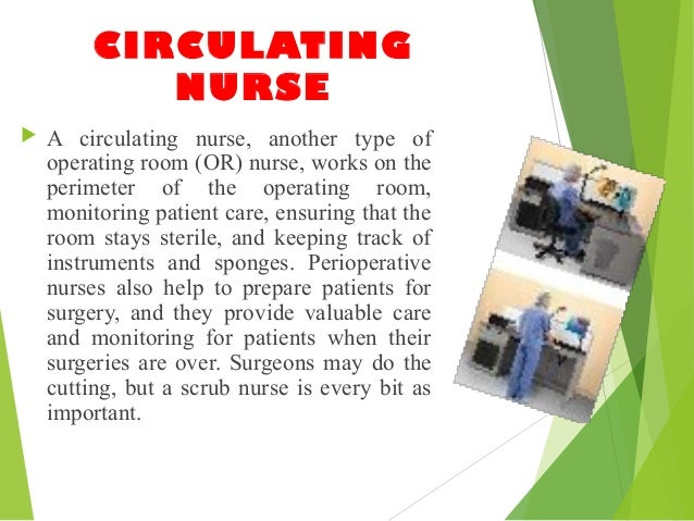how to become a circulating nurse