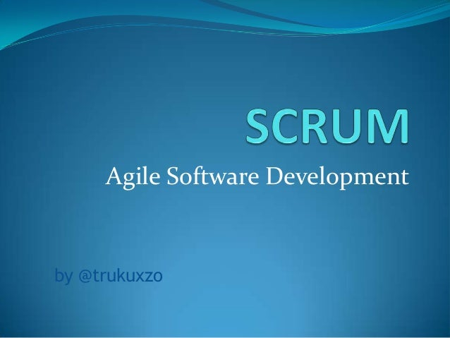 Agile Software Developmentby @trukuxzo