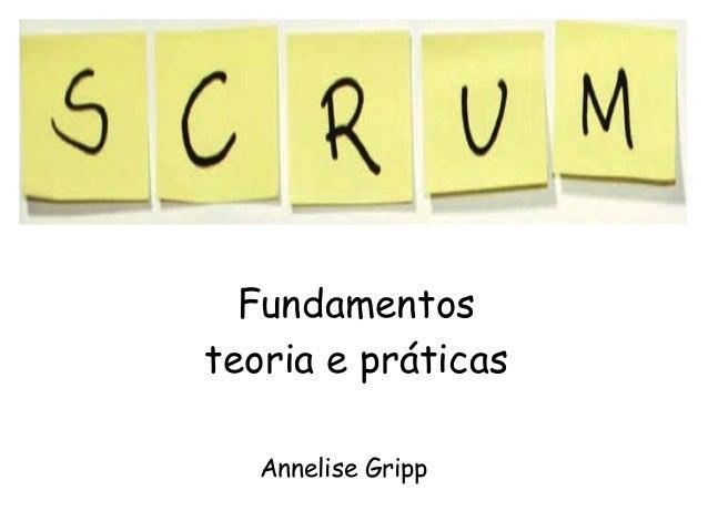 Fundamentos teoria e práticas Annelise Gripp