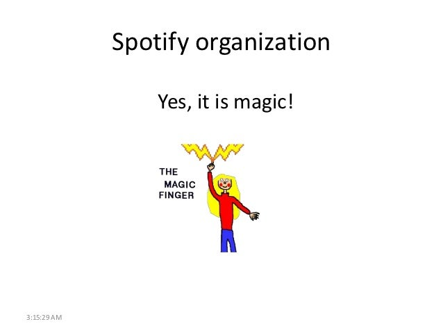 Scaling Agile at Spotify (representation)