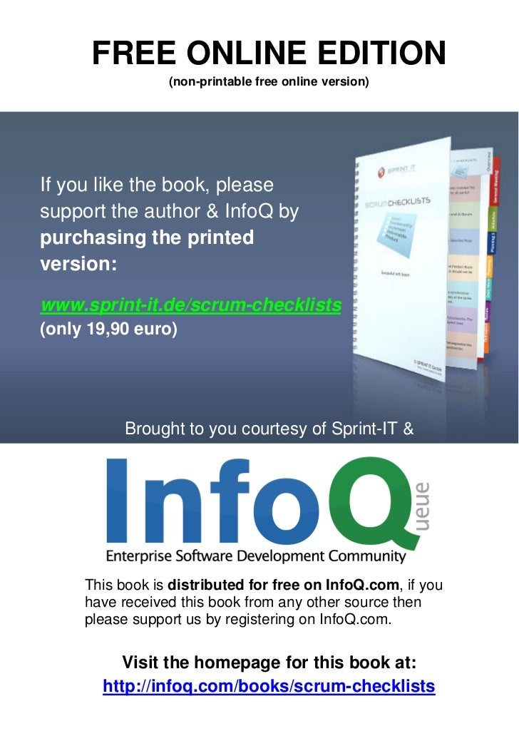 FREE ONLINE EDITION                 (non-printable free online version)If you like the book, pleasesupport the author & In...