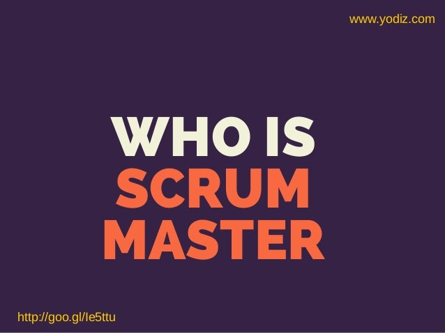 Scrum master-role-by-best-agile-scrum-book-and-guide Slide 2