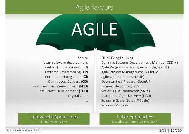 Agile (empirical/adaptive process control model) Traditional (defined/deterministic process control model) People and Inte...