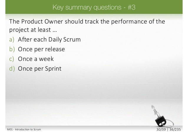 A company has three products. Which two of the following are acceptable way of forming Scrum teams? a) There can be a sing...
