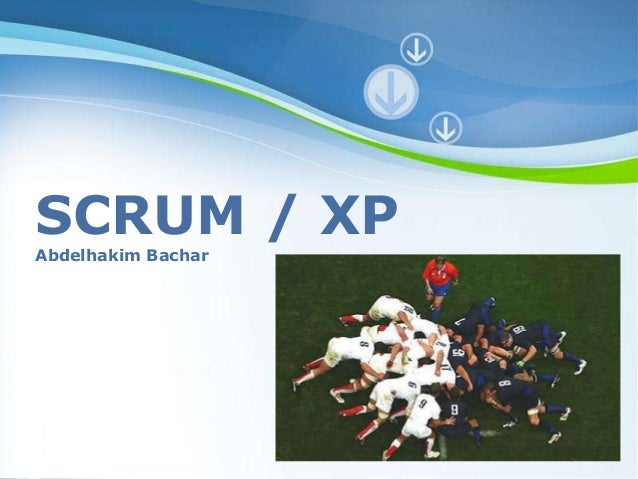 Powerpoint Templates  Page 1  SCRUM / XP  Abdelhakim Bachar