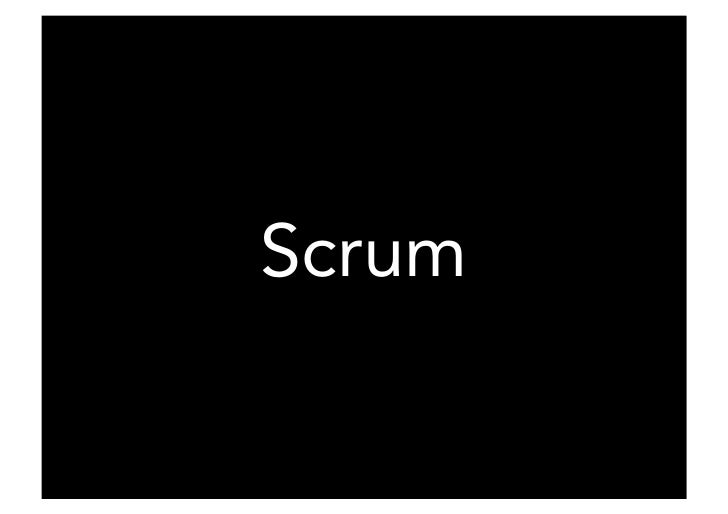 Scrum  Being Agile