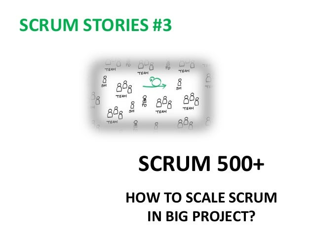SCRUM 500+ HOW TO SCALE SCRUM IN BIG PROJECT? SCRUM STORIES #3