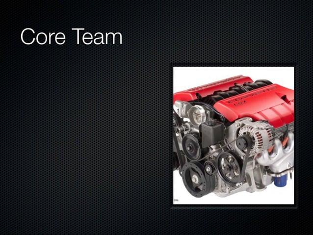 Core Team  No reflexionar  No aprender de los errores  No dejarse asesorar