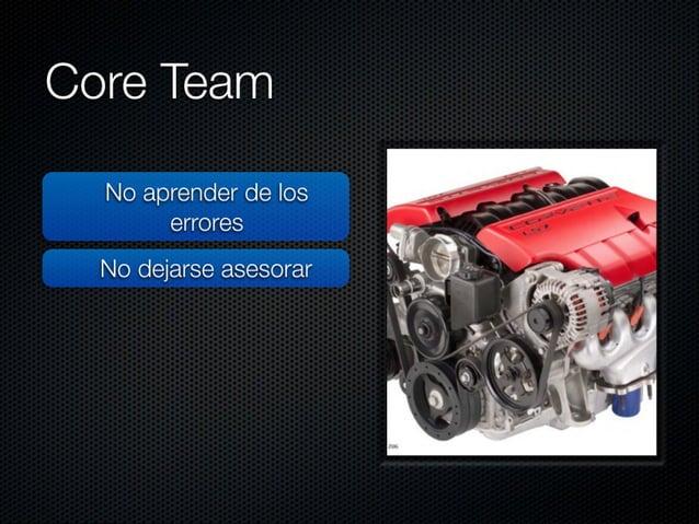 """Core Team  No reflexionar  No aprender de los  errores ,  _     No dejarse asesorar >   ¡f """" a 'xv ¿Tx  '  - .  1/ No reso..."""