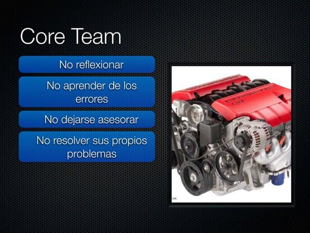 """Core Team  No reflexionar     No aprender de los  errores .  ,  No dejarse asesorar >  «"""" ¡f i' ' l"""" ' Jul-É, ' - ,  ' : >..."""