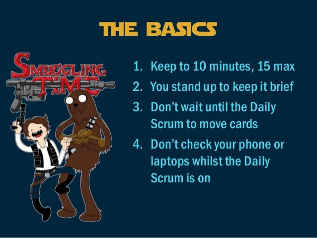 Scrumheads  1.Form into groups of 10  2.Eight of you will be participating within the Daily Scrum  3.Each of the eight peo...