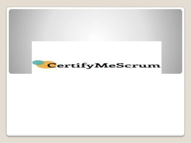 best scrum master certification