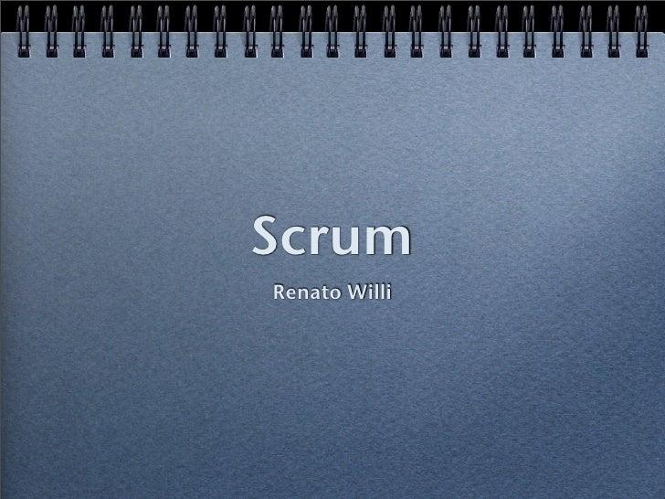 Scrum Renato Willi