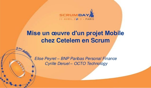 mise un oeuvre d 39 un projet mobile chez cetelem en scrum. Black Bedroom Furniture Sets. Home Design Ideas