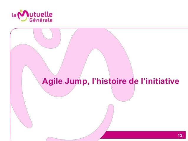 12 Agile Jump, l'histoire de l'initiative