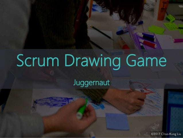 drawing game text Scrum Drawing Game 20 For Agile Tour 2017