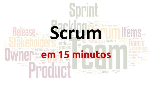 Scrum em 15 minutos