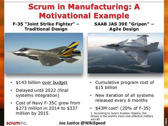 AgileCamp 2015: Scrum for Full Scale Manufacturing, Joe Justice Slide 3