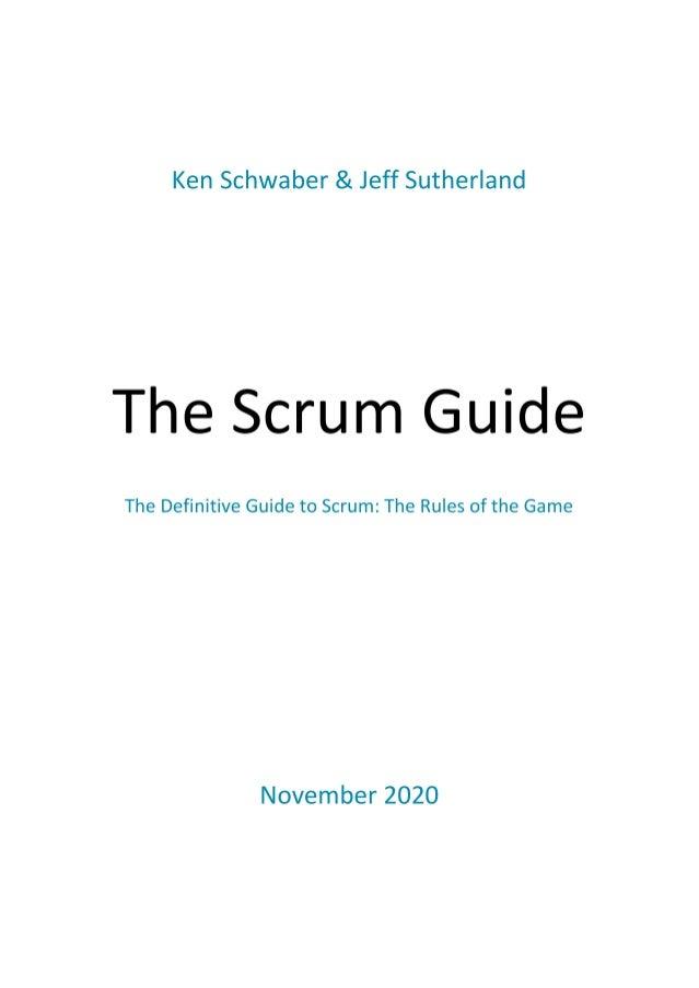 Scrum Guide & SAFe Agile booklet Slide 3
