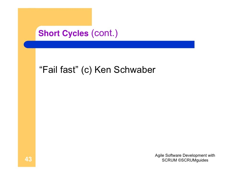 agile software development with scrum ken schwaber pdf