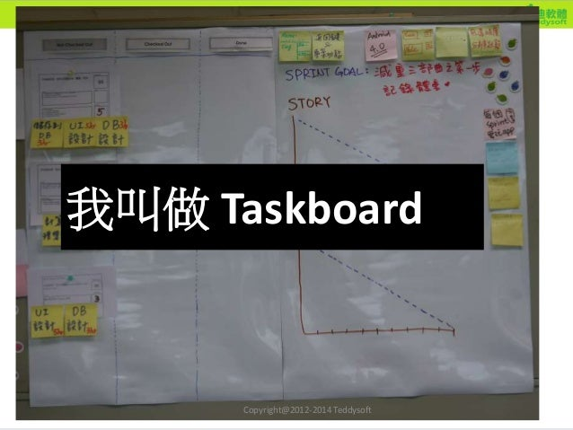 25 Taskboard 我叫做 Taskboard Copyright@2012-2014 Teddysoft