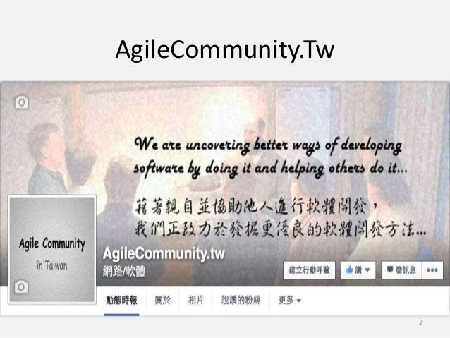 Scrum introduction in hsin chu-agilemeetup Slide 2