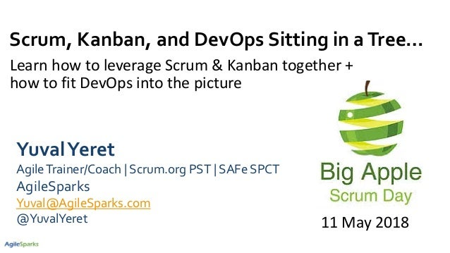 Scrum, Kanban, and DevOps Sitting in aTree… Learn how to leverage Scrum & Kanban together + how to fit DevOps into the pic...