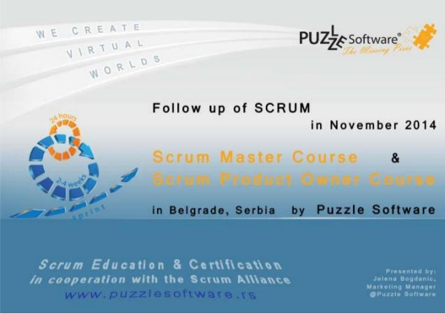 www.thegrid.rs www.puzzlesoftware.rs  Agenda:   About Puzzle Software   Cooperation with the Scrum Alliance   Benefits ...