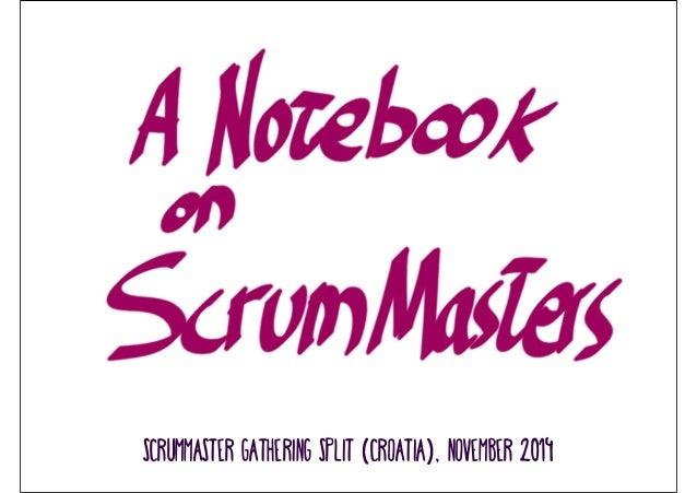 ScrumMaster gathering split (croatia), november 2014
