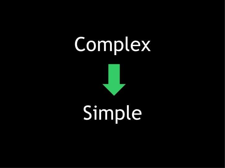 ComplexSimple