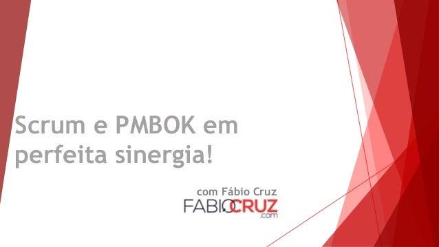 Scrum e PMBOK em perfeita sinergia! com Fábio Cruz