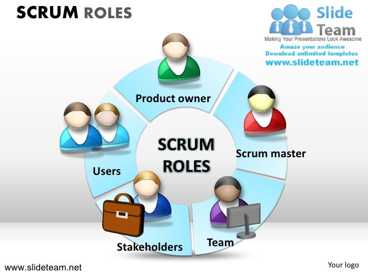 scrum process sprint cycles roles powerpoint presentation templates. Black Bedroom Furniture Sets. Home Design Ideas