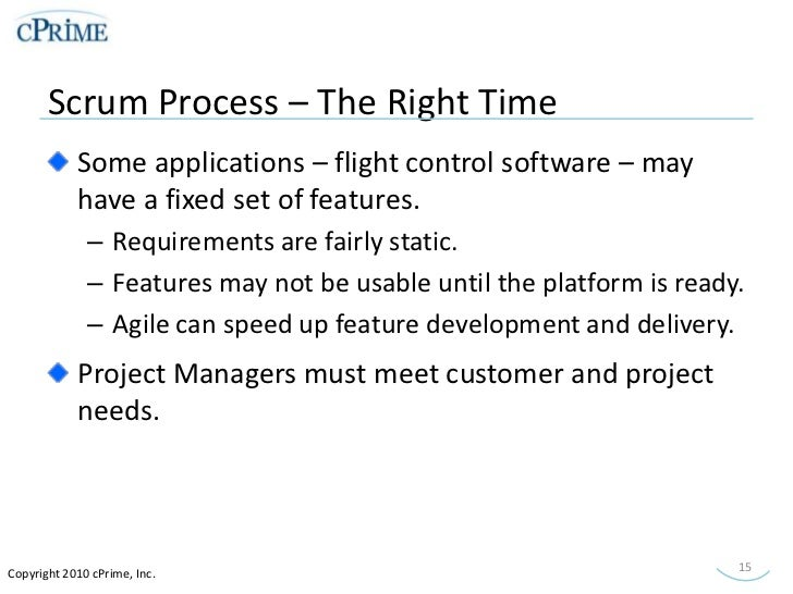 introduction to scrum for project managers