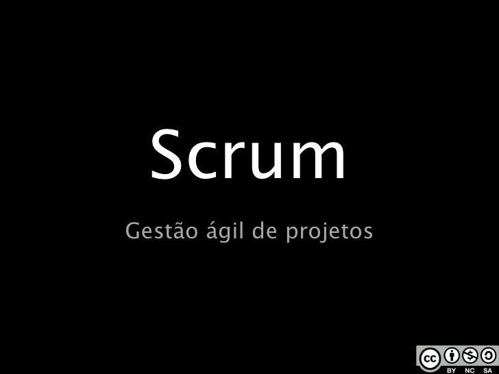 Scrum - seminario
