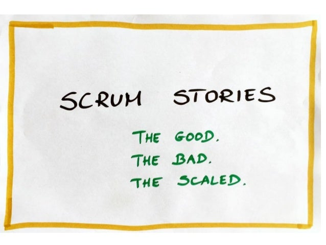 Scrum Stories - 2016.06.29, Agile3M meeting
