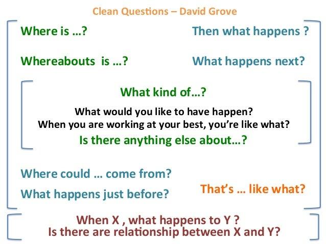 From Drama to Karma  Clean Scoping Clean Setup Developmental Practice Clean Feedback Five Senses Modeling Time Metaphor...