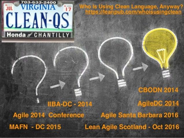 Andrea Chiou, Agile Coach Connections-At-Work, LLC @andreachiou andrea@connections-at-work.com IIBA-DC - 2014 Agile 2014 C...