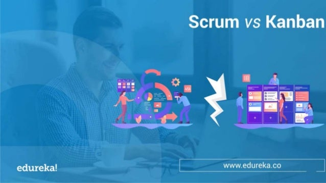 WHAT IS SCRUM? HOW ARE BOTH DIFFERENT? WHAT IS KANBAN? www.edureka.co HOW ARE BOTH SIMILAR? SCRUM vs KANBAN WHICH ONE SHOU...