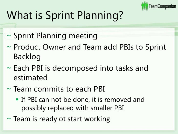 how to break down product backlog into sprint backlog