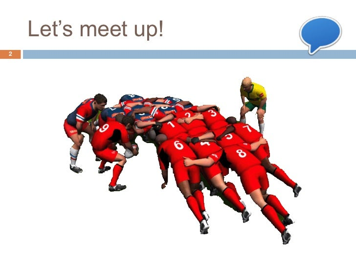 Let's meet up!2
