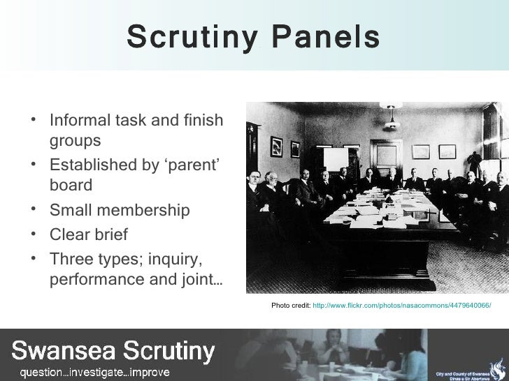 Scrutiny work planning conference Slide 3