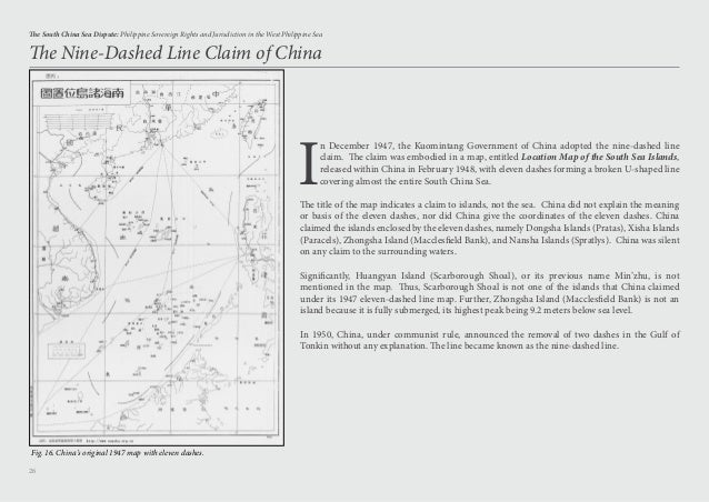 Long Island Leren Bank.Updated The South China Sea Dispute Philippine Sovereign Rights And