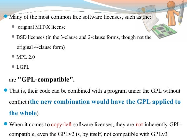 GNU GPL, LGPL, Apache licence Types and Differences