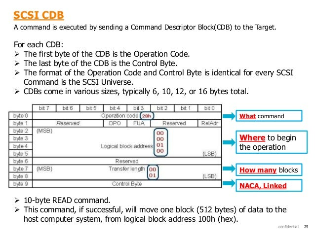 SCSI Protocol