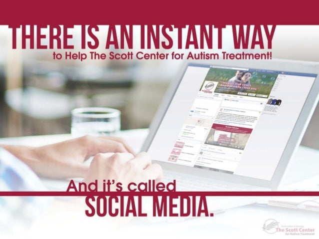 How Can YOU Help The Scott Center on Social Media?