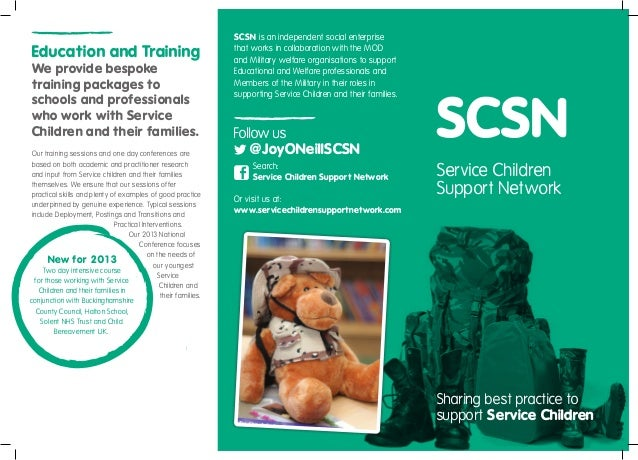 SCSN is an independent social enterpriseEducation and Training                                          that works in coll...
