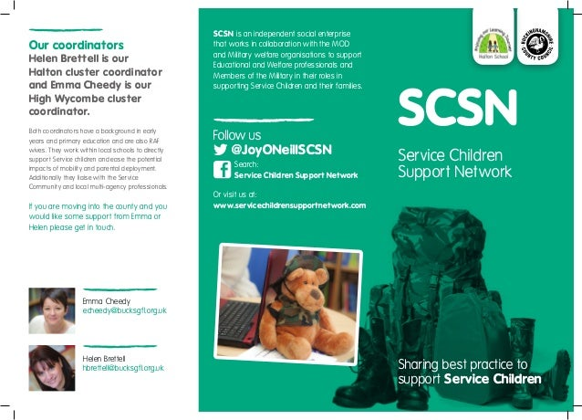 SCSN is an independent social enterpriseOur coordinators                                    that works in collaboration wi...