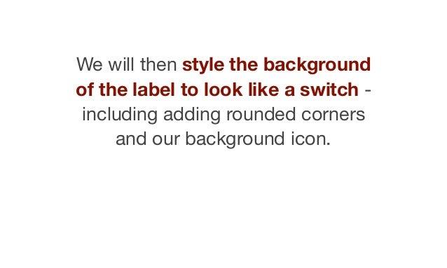 "Label  ""switch__label"""