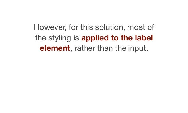Unfortunately, the label element has no checked, unchecked or disabled state of its own.